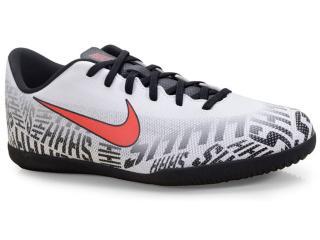 Tênis Masculino Nike Ao3120-170 Vaporx 12 Club Branco/preto/vermelho - Tamanho Médio