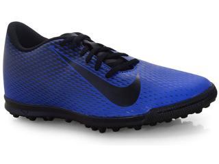 Tênis Masculino Nike 844437-400 Bravata Society Marinho/preto - Tamanho Médio