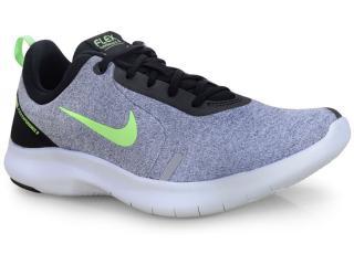 Tênis Masculino Nike Aj5900-002 Flex Experience rn 8 Cinza/limão - Tamanho Médio