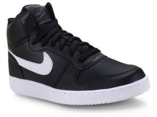 Tênis Unisex Nike Aq1773-002 Ebernon Mid Preto/branco - Tamanho Médio