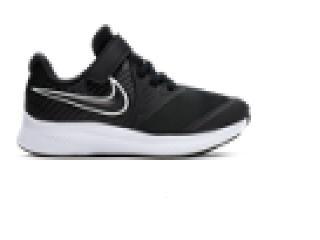 Tênis Fem Infantil Nike At1803-001 Star Runner 2 Preto - Tamanho Médio