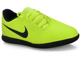 Tênis Masc Infantil Nike Ao0399-717 jr Phanton Venom Club ic Limão/preto - Tamanho Médio
