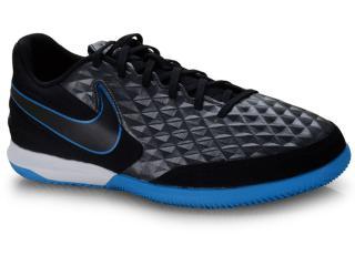 Tênis Masculino Nike At6099-004 Tiempo Legend 8 Academy ic Preto/azul - Tamanho Médio