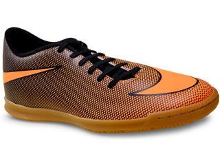 Tênis Masculino Nike 844441-880 Mens Bravata ii (ic) Indoor  Preto/laranja - Tamanho Médio