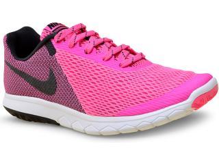 Tênis Feminino Nike 844729-600 Wmns Flex Experience rn 5  Rosa/preto - Tamanho Médio