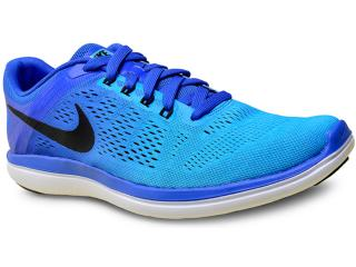 Tênis Masculino Nike 830369-401 Flex 2016 rn  Azul - Tamanho Médio