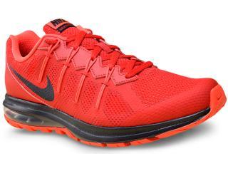 Tênis Masculino Nike 819150-601 Air Max Dynasty Msl  Vermelho - Tamanho Médio