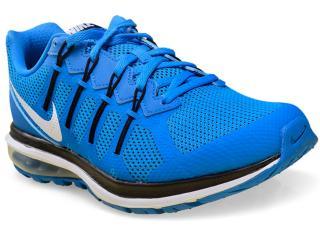 Tênis Masculino Nike 819150-402 Air Max Dynasty Msl Azul/preto - Tamanho Médio