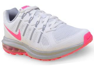 Tênis Feminino Nike 819154-102 Air Max Dynasty Msl  Branco/pink - Tamanho Médio