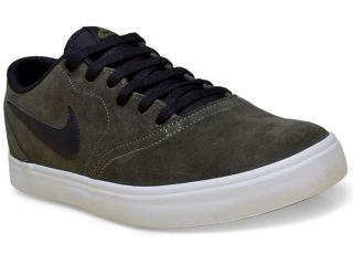 Tênis Masculino Nike 843895-300 sb Check Solar Verde Musgo - Tamanho Médio