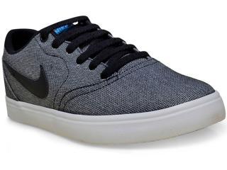 Tênis Masculino Nike 843896-004 sb Check Canvas Preto/branco - Tamanho Médio
