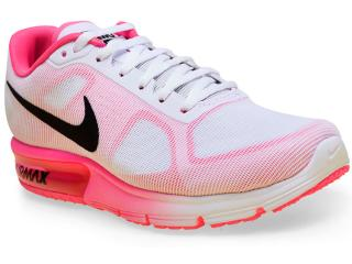 Tênis Feminino Nike 719916-106 Wmns Air  Max Branco/pink - Tamanho Médio