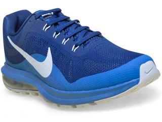 Tênis Masculino Nike 852430-400 Air Max Dynasty 2  Azul - Tamanho Médio