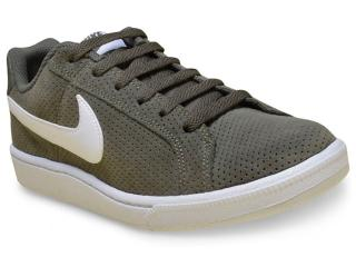 save off b5269 a5636 Tênis Masculino Nike 819802-310 Court Royale Suede Verde Musgobranco