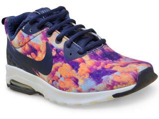 Tênis Feminino Nike 844890-401 Air Max Motion lw Marinho/floral - Tamanho Médio