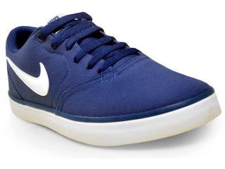 Tênis Masculino Nike 843896-400 sb Check Solar Canvas Marinho - Tamanho Médio