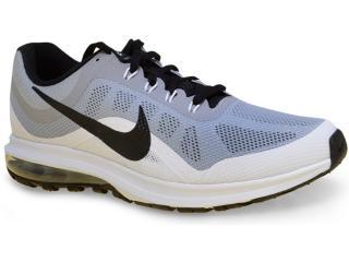Tênis Masculino Nike 852430-002 Air Max Dynasty 2 Cinza/branco/preto - Tamanho Médio