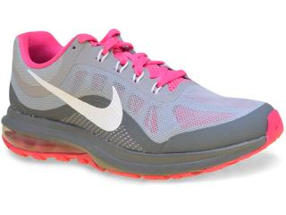 Tênis Feminino Nike 852445-003 Air Max Dynasty 2 Cinza/pink - Tamanho Médio