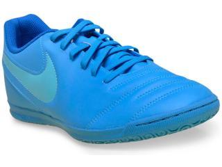 Tênis Masculino Nike 819234-444 Tiempo Rio Iii ic Azul - Tamanho Médio