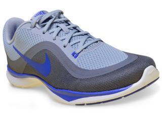 Tênis Feminino Nike 831217-010 Flex 6 Training Shoe  Cinza/azul - Tamanho Médio