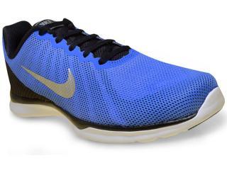Tênis Masculino Nike 852449-400  in Season tr 6 Azul/preto - Tamanho Médio