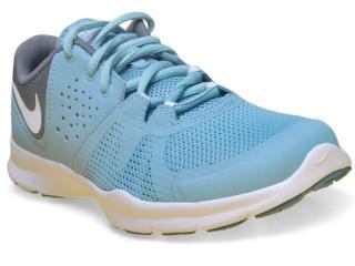 Tênis Feminino Nike  844651-402 Core Motion tr 3  Azul/grafite/branco - Tamanho Médio