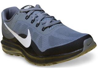 Tênis Masculino Nike 852430-006 Air Max Dynasty 2 Cinza/preto - Tamanho Médio
