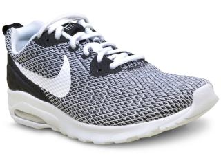 Tênis Masculino Nike 844836-004 Air Max Motion Branco/preto - Tamanho Médio