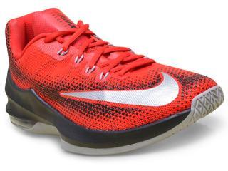 ebe38ee4d9dd8 Tênis Masculino Nike 852457-600 Air Max Infuriate Low Vermelho preto