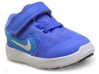 Tênis Masc Infantil Nike 819418-403 Revolution 3 Azul - Tamanho Médio