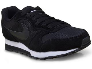 Tênis Feminino Nike 749869-001 md Runner 2 Preto/branco - Tamanho Médio