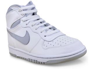 Tênis Masculino 336608-118 Big Nike High Branco/cinza - Tamanho Médio