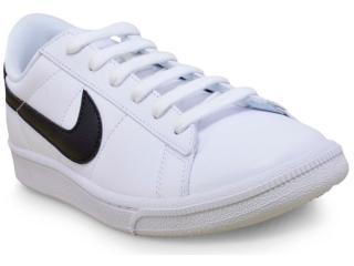 Tênis Feminino Nike 312498-130 Wmns Tennis Classic  Branco/preto - Tamanho Médio