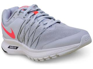 Tênis Feminino Nike 843883-009wmns  Air Relentless 6 Msl Cinza Claro - Tamanho Médio