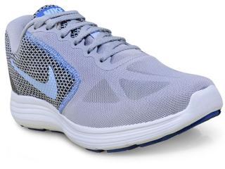 Tênis Feminino Nike 819303-014 Revolution 3 Cinza/lilas - Tamanho Médio