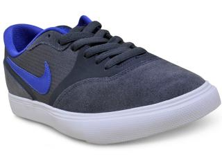 Tênis Masculino Nike 819844-050 sb Paul Rodriguez 9 vr Grafite/azul - Tamanho Médio