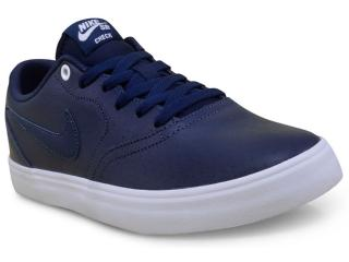 Tênis Masculino Nike 843900-441 sb Check Solar Prm Marinho - Tamanho Médio