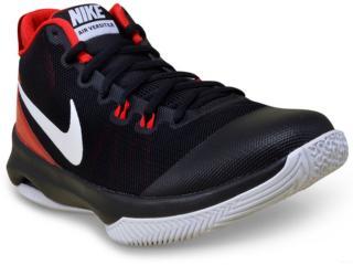 Tênis Masculino Nike 852431-007 Air Versatile Basketball Preto/vermelho/branco - Tamanho Médio