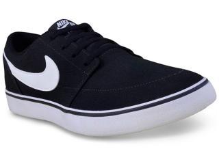 Tênis Masculino Nike 880268-010 sb Portmore ii  Solar  Preto/branco - Tamanho Médio