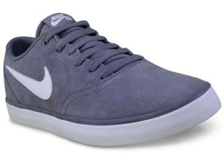 Tênis Masculino Nike 843895-005 sb Check Solar Cinza/branco - Tamanho Médio