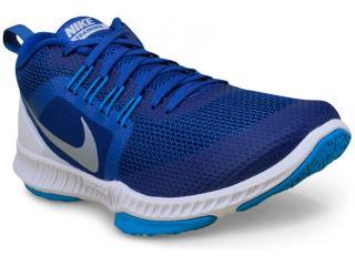 Tênis Masculino Nike 917708-400 Zoom Domination Training Azul/branco - Tamanho Médio