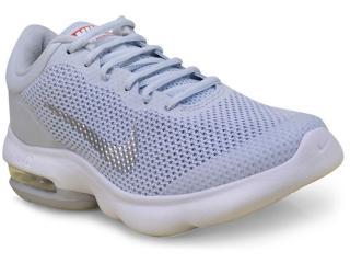 Tênis Feminino Nike 908991-006 Air Max Advantage Cinza branco 98bb1f64fb