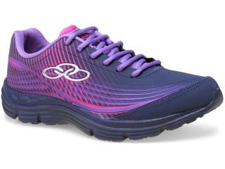 Tênis Feminino Olympikus Spin  987 Marinho/violeta - Tamanho Médio