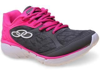 Tênis Feminino Olympikus Mist 184 Chumbo/pink - Tamanho Médio