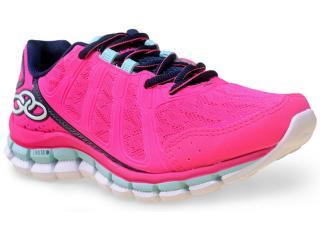 Tênis Feminino Olympikus Diffuse 181 Pink/marinho - Tamanho Médio
