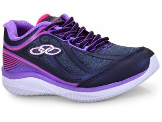 Tênis Fem Infantil Olympikus Actual 429 Kids Marinho violeta 06c6a2c55c4bd