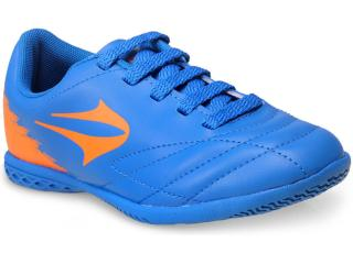 fc04f1ddc4 Tênis Masc Infantil Topper 4133924 2609 Slick ii jr Azul laranja