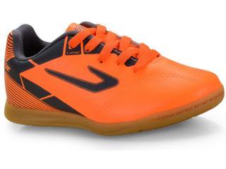 Tênis Masc Infantil Topper 42035404268 Cup ii Inf Futsal Laranja/cinza - Tamanho Médio