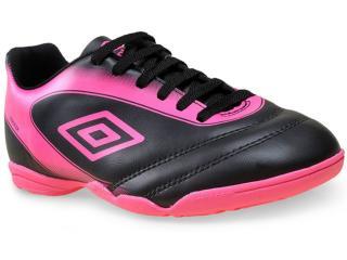 Tênis Feminino Umbro Of72038 101 Striker ii  Preto/pink - Tamanho Médio