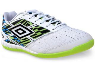 Tênis Masculino Umbro Of72046 215 Diamond Branco/preto/verde - Tamanho Médio